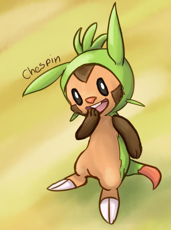 Pokemon Gen 6 - Chespin by Prismshard