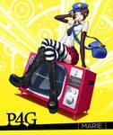 Persona 4 Golden: Marie