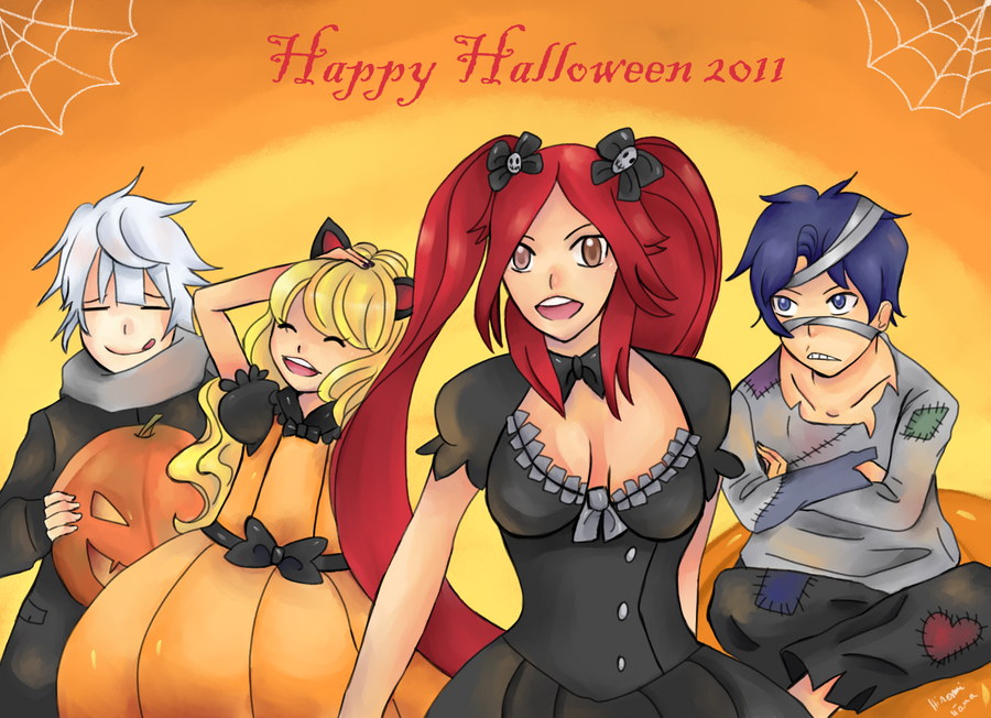 Happy Halloween 2011 by hiromihana