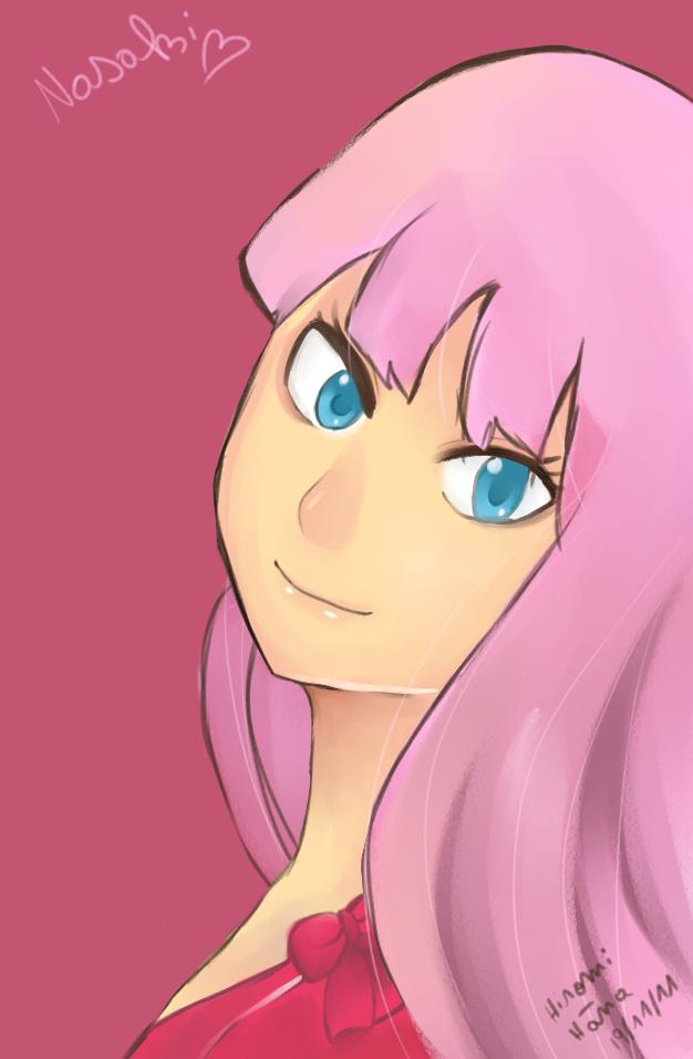 nasaki portrait by hiromihana