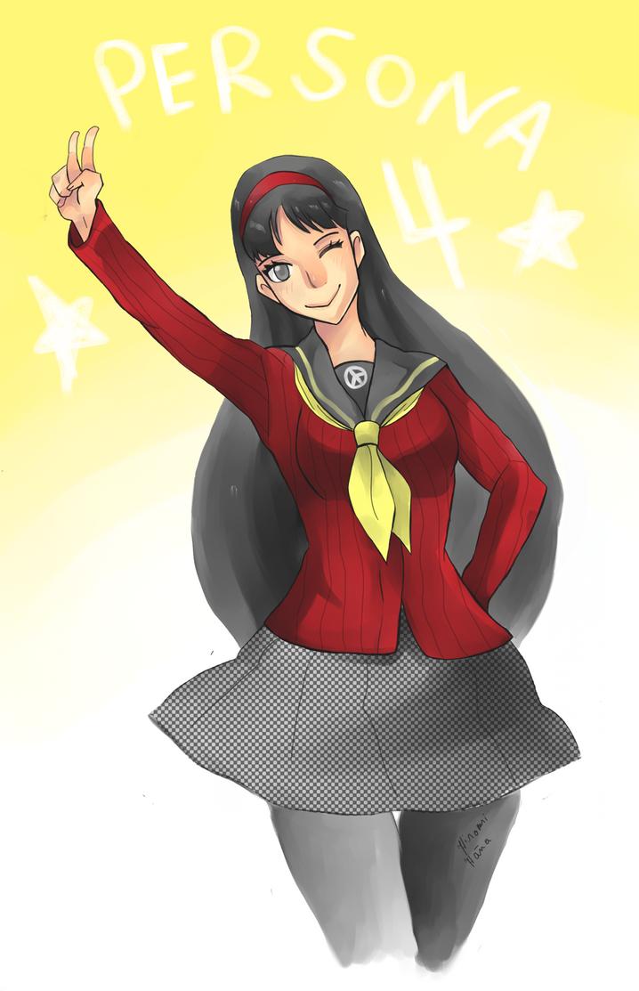 Persona 4 Yukiko by hiromihana