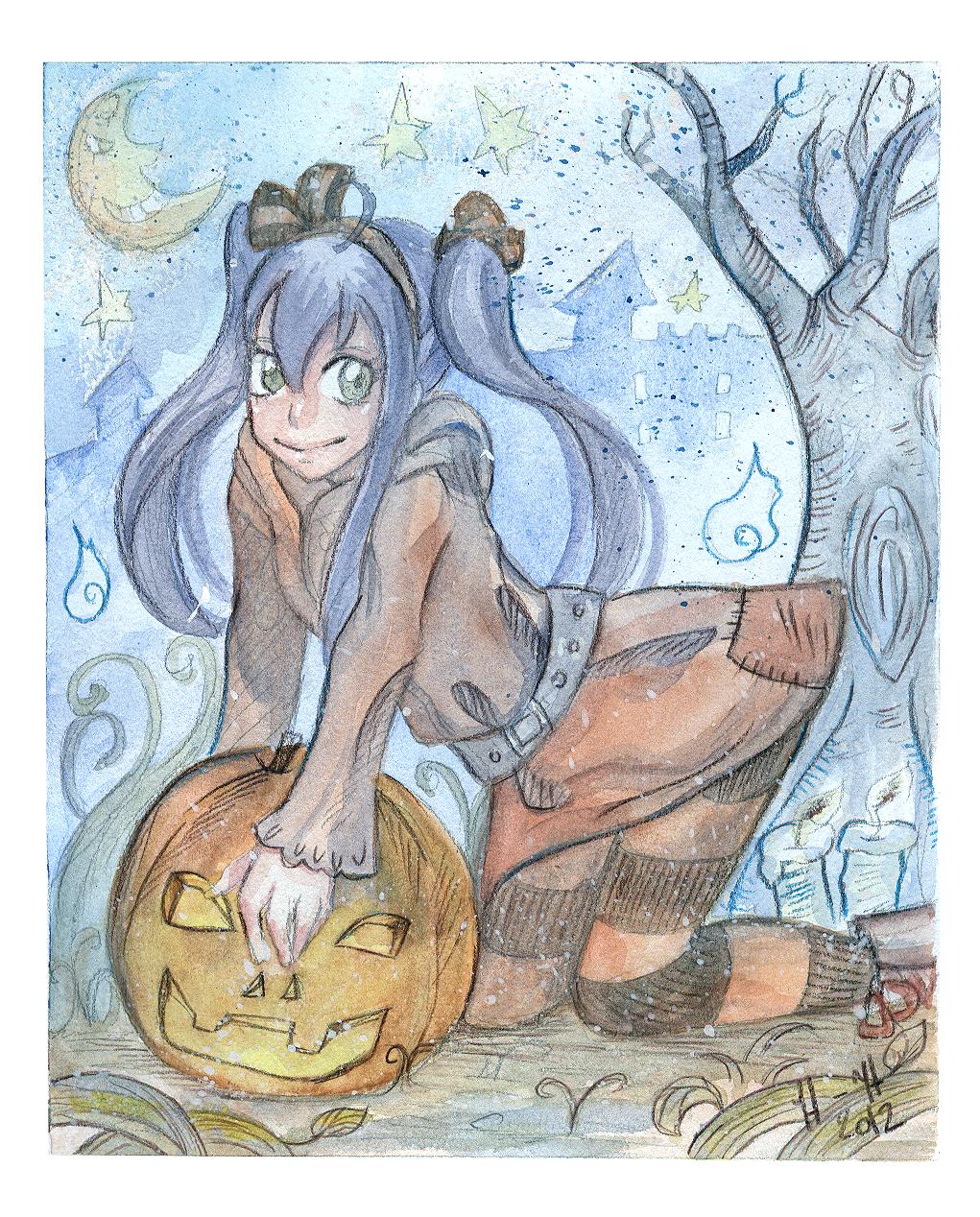 Happy Halloween by hiromihana