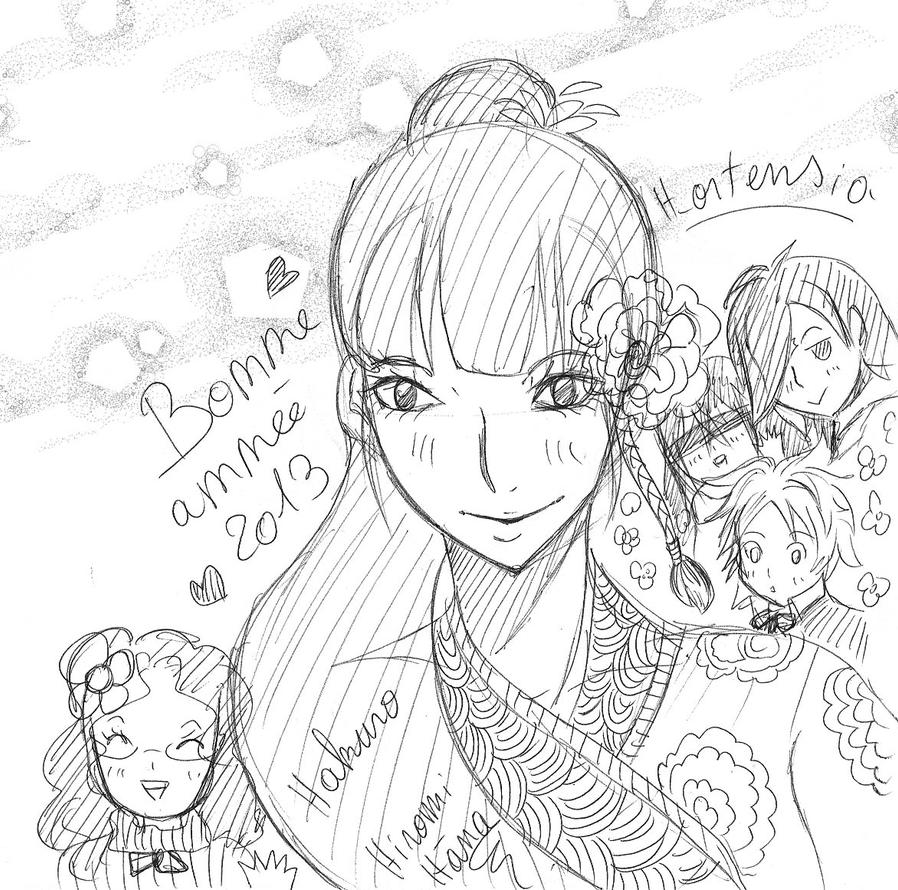 Happy new years by hiromihana