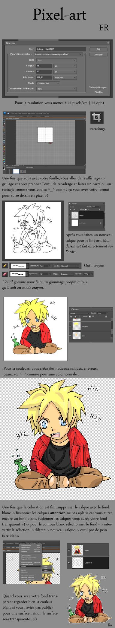 tuto-pixelART by hiromihana