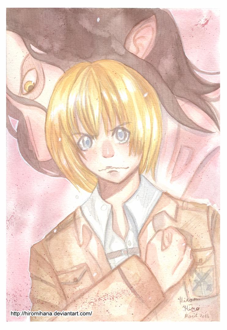 Armin shingeki no kyojin by hiromihana