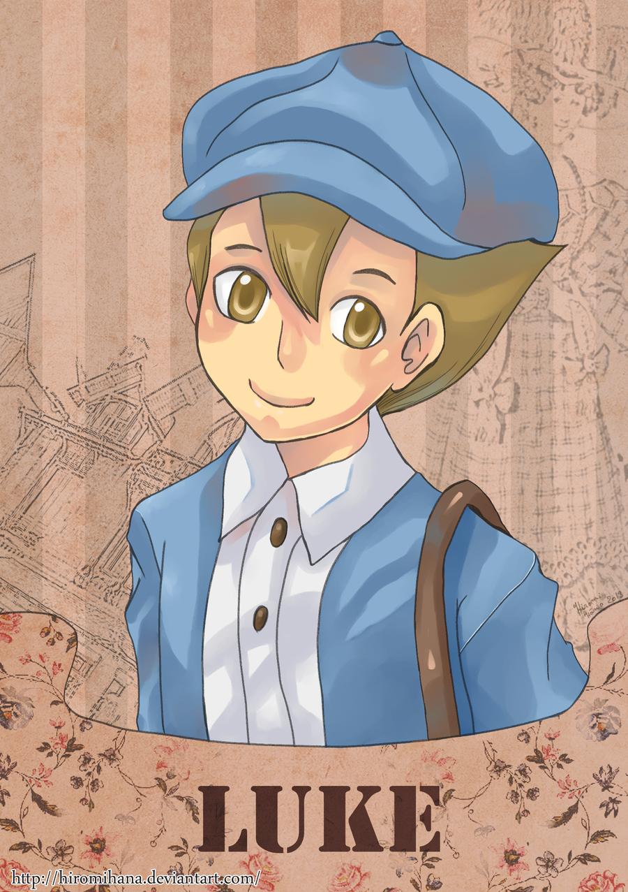 Luke: art trad by hiromihana