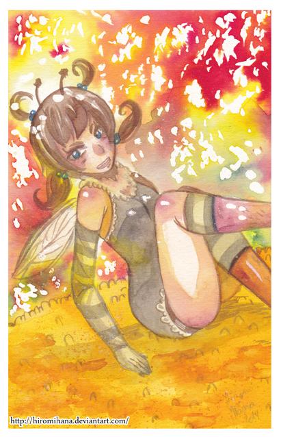 Miss Abeille by hiromihana