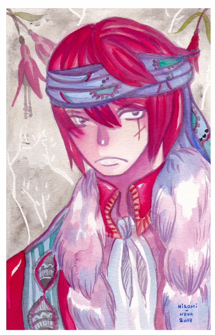 Watercolor: Homme Rebelle by hiromihana