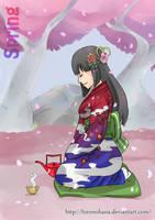 Printemps: Hakuro by hiromihana