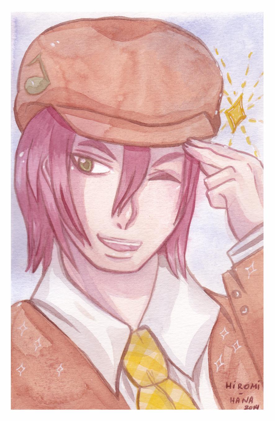 Watercolor : Dorian by hiromihana
