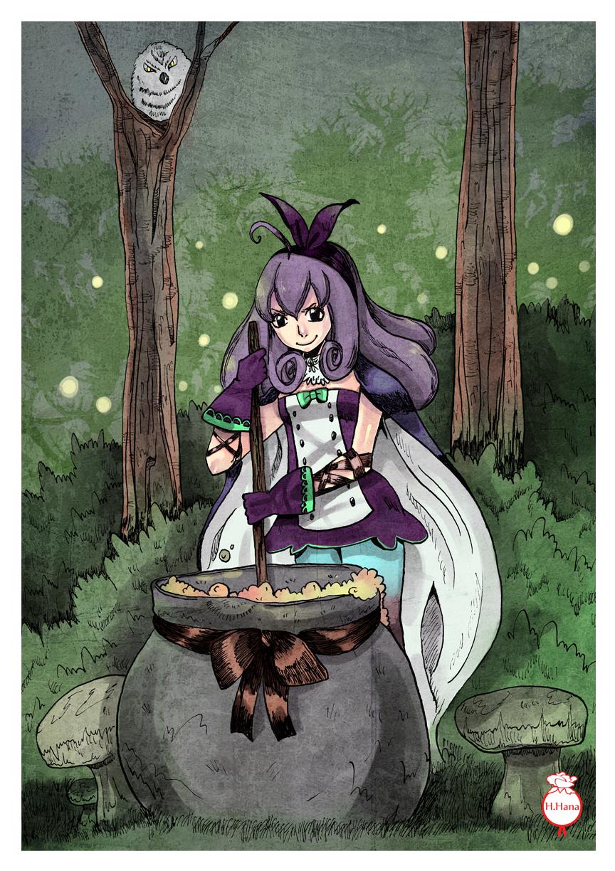 Murasaki fait sa soupe by hiromihana