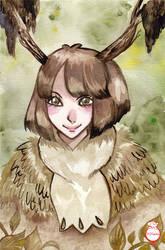 Watercolor Hios by hiromihana