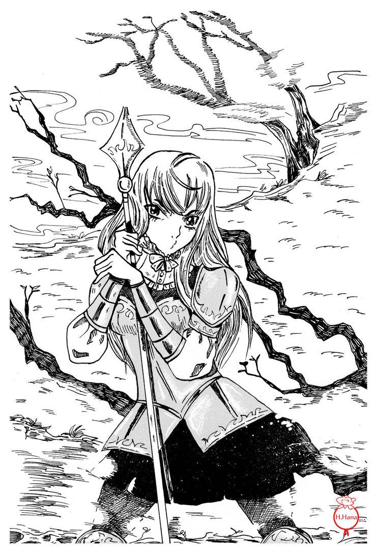 Nasaki by hiromihana