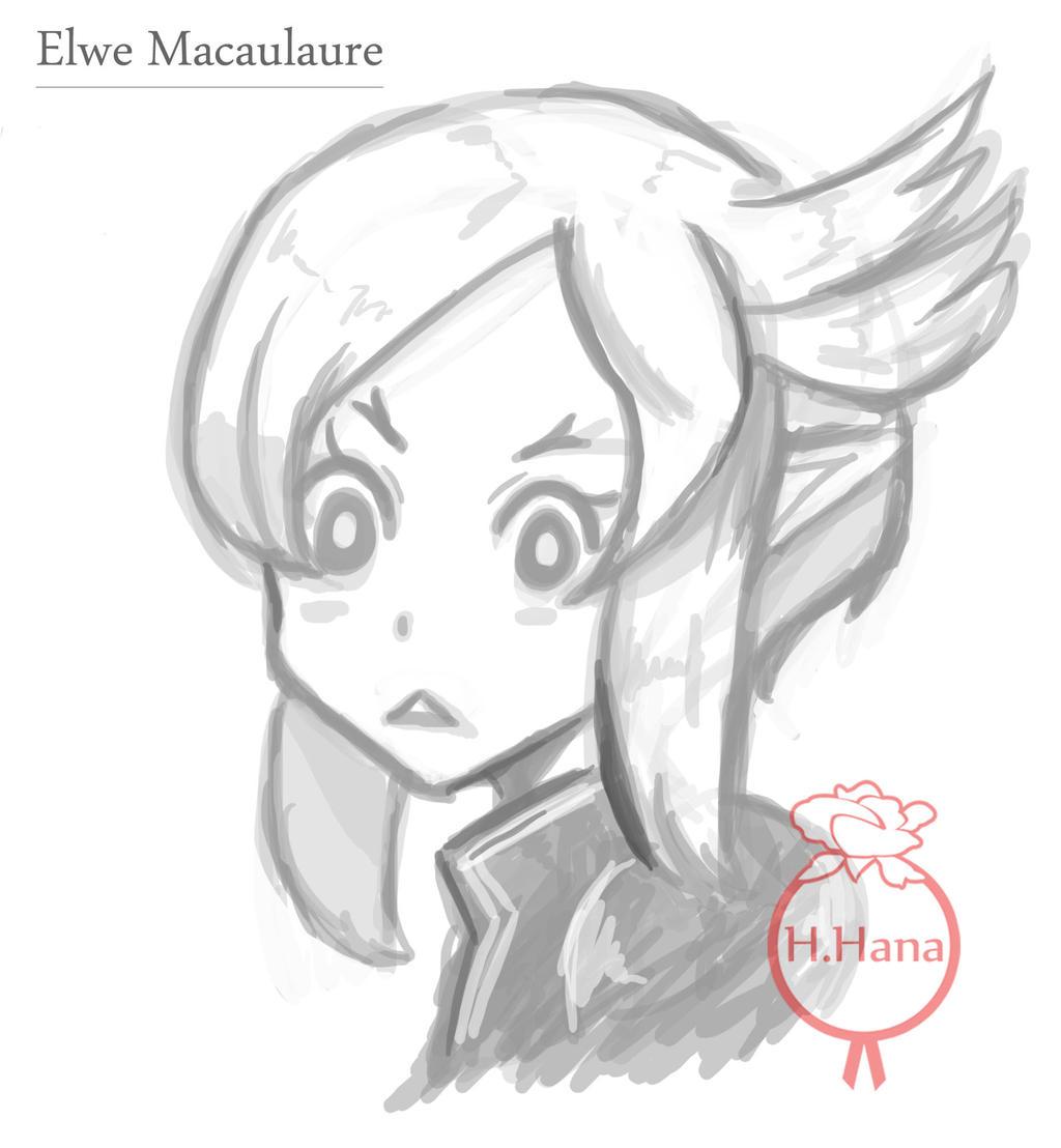Artwork: Elwe new hair style by hiromihana