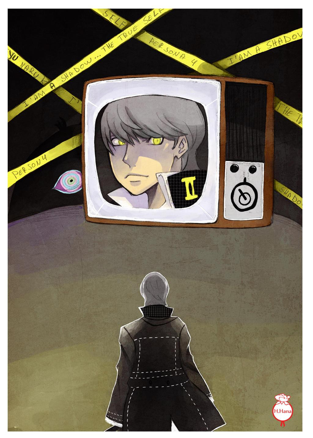 Fan-art: Persona 4 Yu Narukami by hiromihana