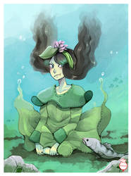 Artwork: At sous l'etang by hiromihana