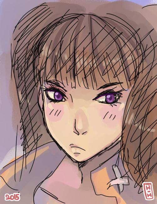 Fanart: Diane sketch by hiromihana