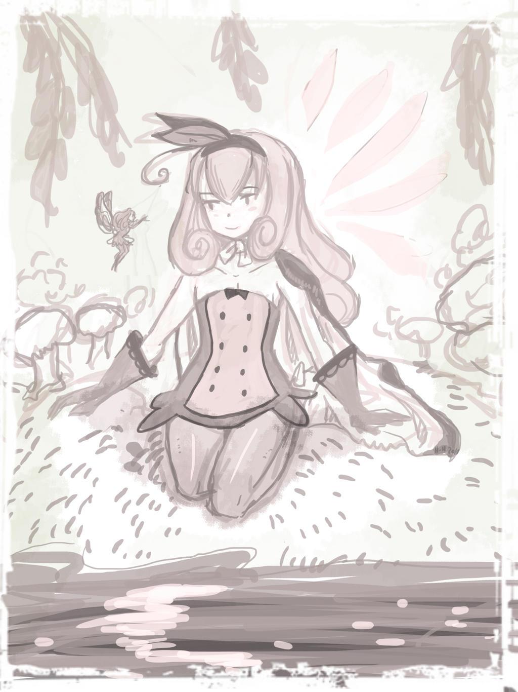 FAiry Sorceress: Le bois feerique by hiromihana