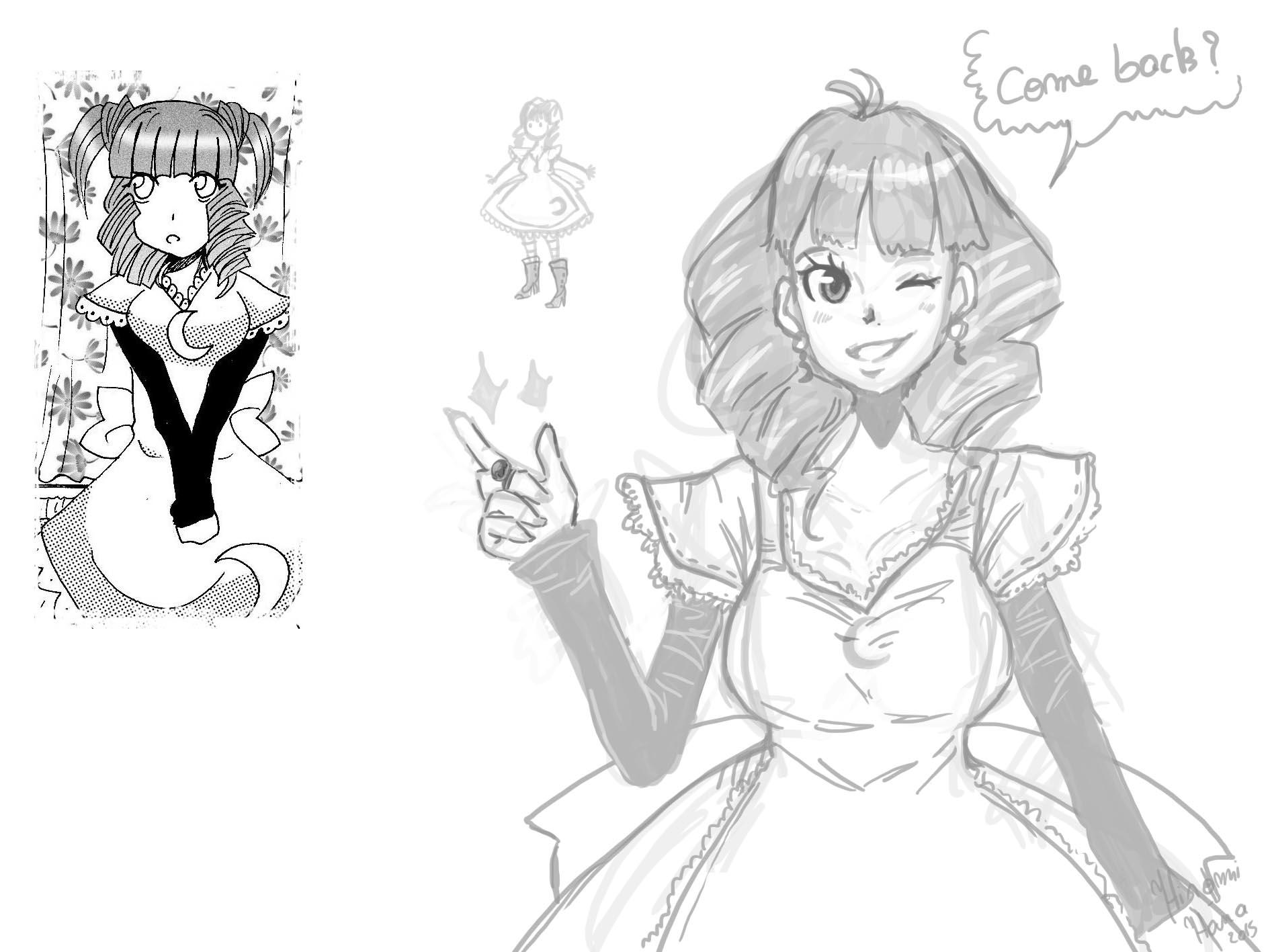Fairy Sorceress: La vendeuse by hiromihana