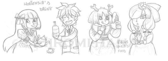 Sketch: Goodies Magnets by hiromihana