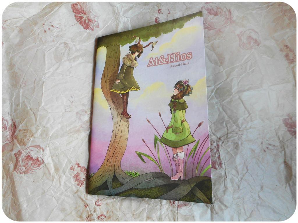 Photo: Fanzine Athios ( couverture ) by hiromihana