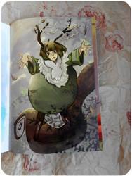 Photo: Fanzine Athios ( page ) by hiromihana