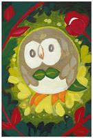 Fanart: Pokemon Brindibou by hiromihana