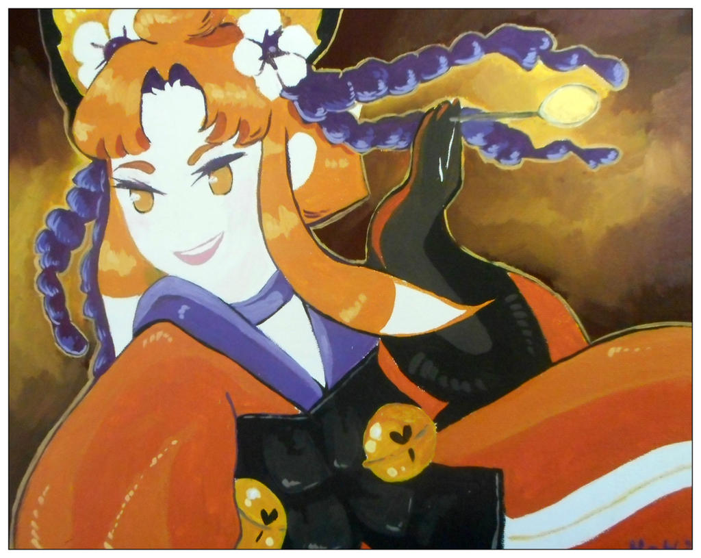 Fanart:Bravely Second Yoko by hiromihana