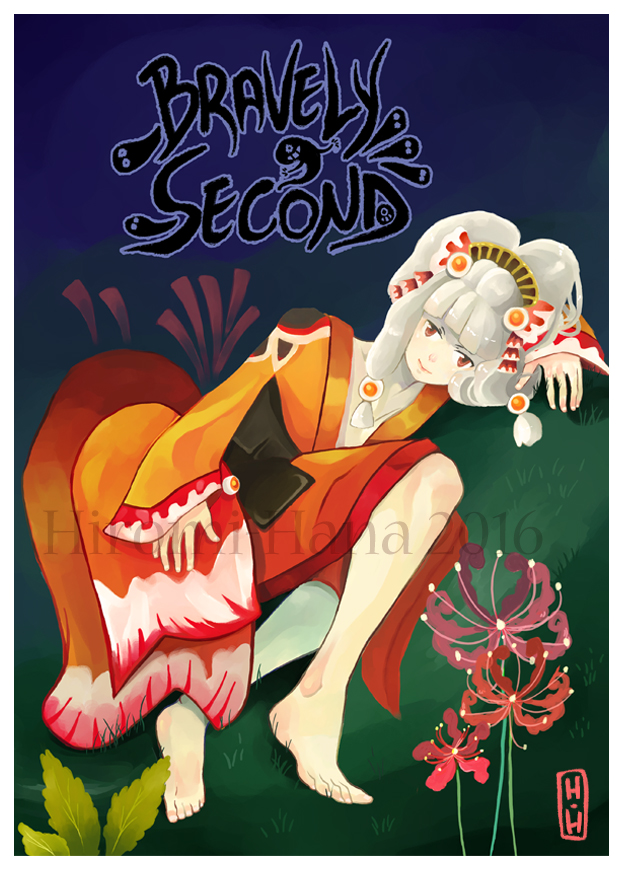 Fanart: Cover fanbook Bravely Second by hiromihana