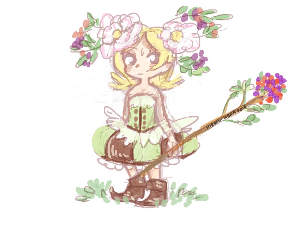 Sketch: Elwe enfant by hiromihana