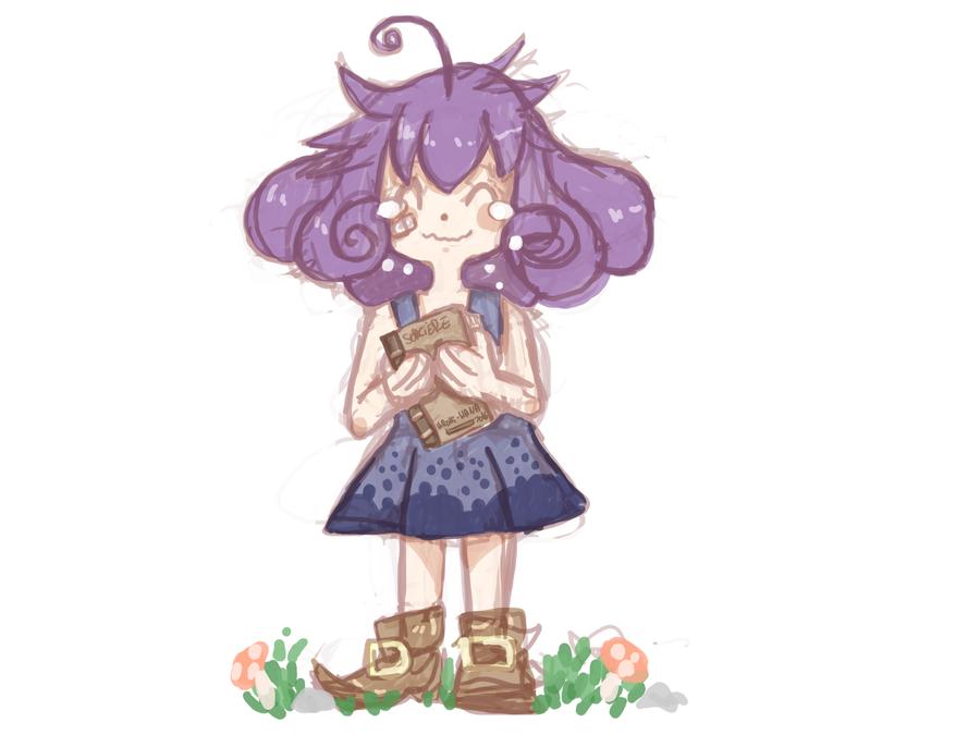 Sketch: Mura enfant by hiromihana