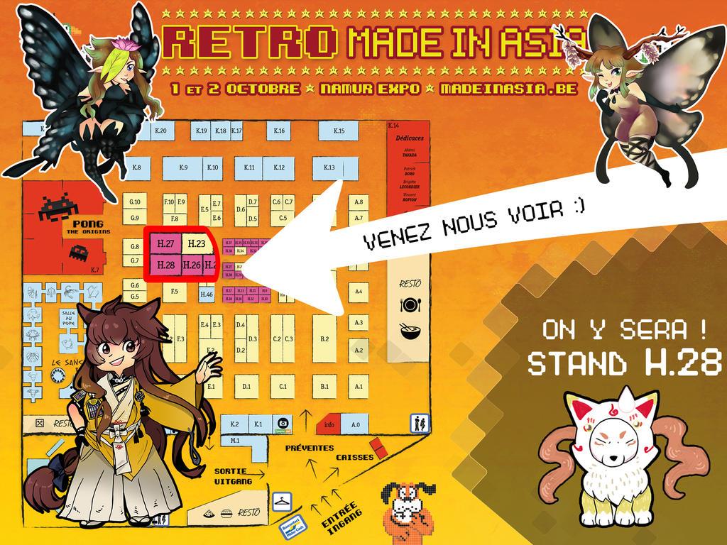 Convention: Retro Mia by hiromihana