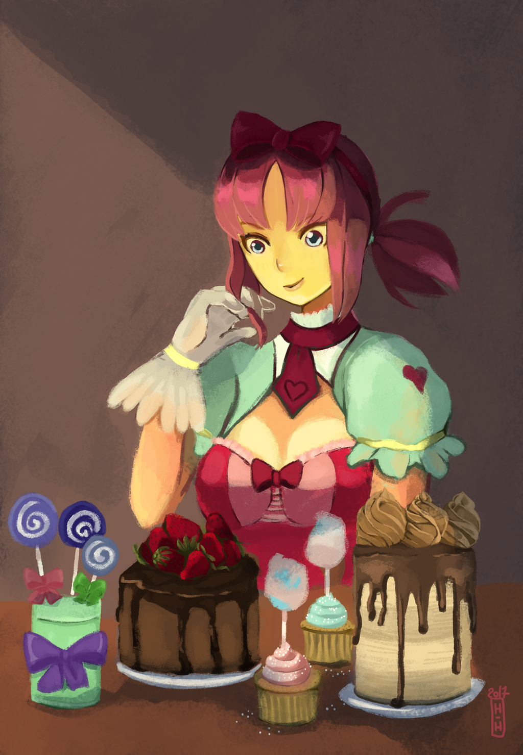 Candy Fanart by hiromihana