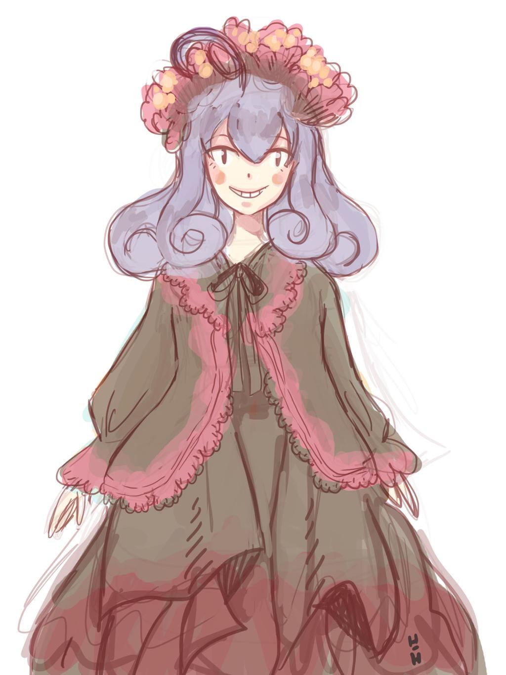 Sketch: Mura automne by hiromihana