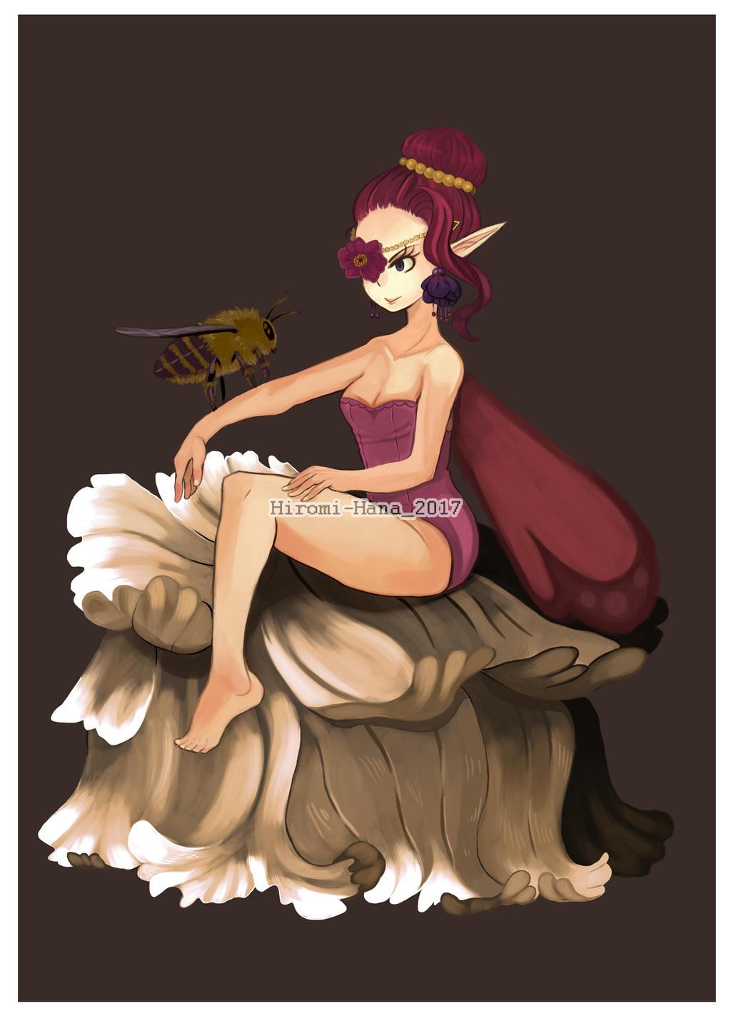 Fairy Sorceress : Une fee by hiromihana