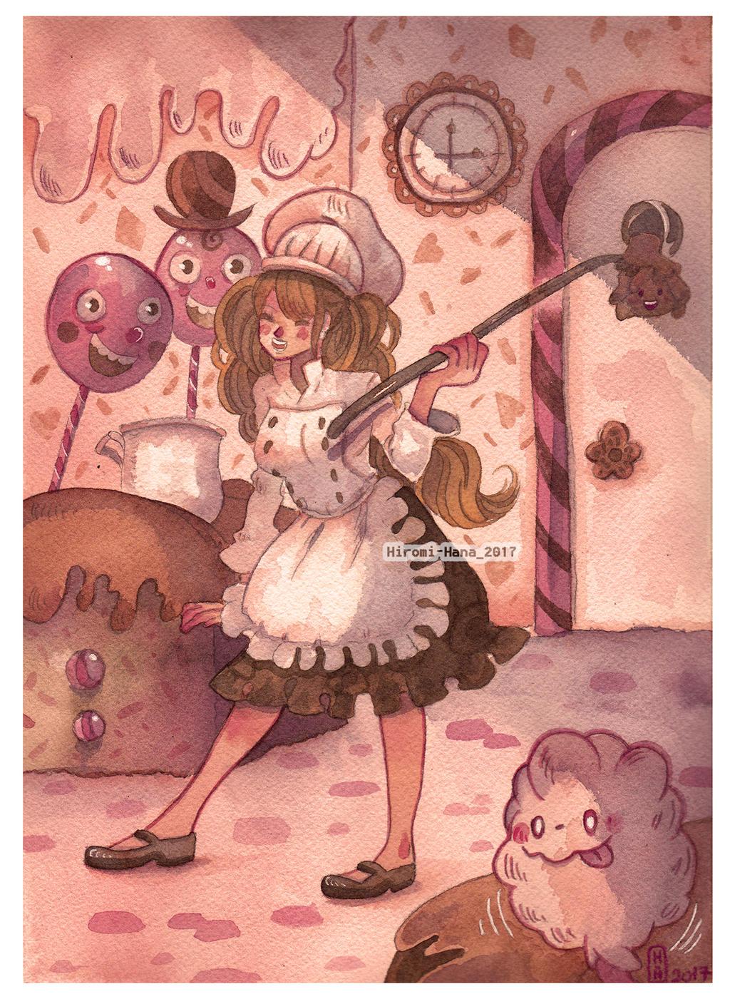 Fanrat : Charlotte Pudding by hiromihana