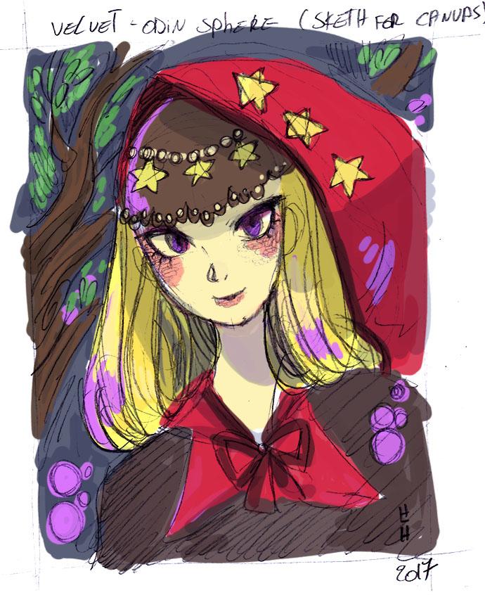 Velvet Sketch by hiromihana