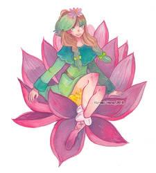 watercolor : At by hiromihana