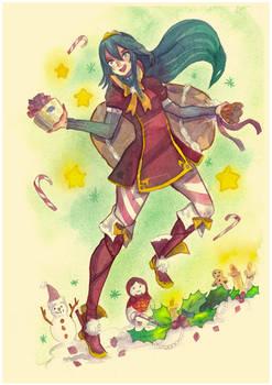 Watercolor : Lucina