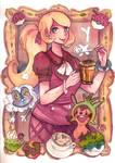 Watercolor : Serena xy