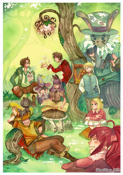 Fairy Sorceress : Groupe