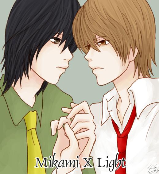 Death Note X Kira: Mikami X Light By Kagomelovesinu On DeviantArt