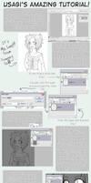 Usagi's Colouring Tutorial by kagomelovesinu