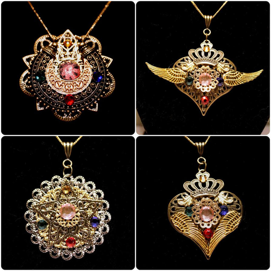 Sailor Moon Locket Set by ZTKuko