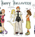 HP: Kingdom Hearts Halloween by ZTKuko