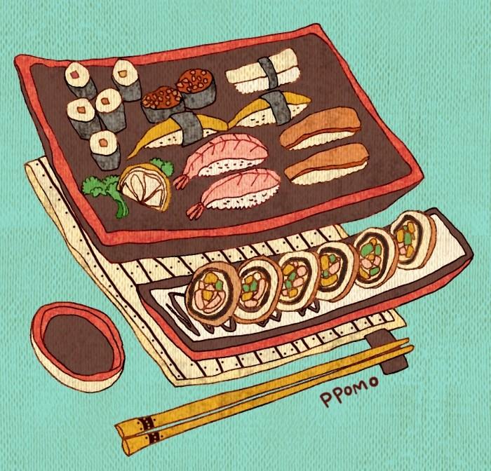 Food - Sushi by PPOMO