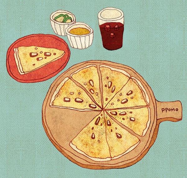 Food - Gorgonzola Pizza by PPOMO