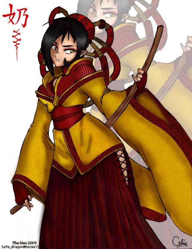 Samurai 2 -in color- by Alice20