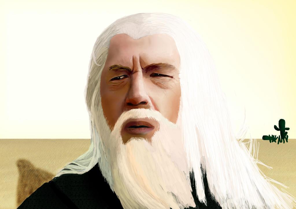 Gandalf by DelfrandX