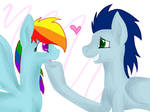 Rainbow Dash and Soarin'